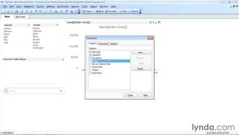 qlikview bi tutorial modifying the qlikview user interface