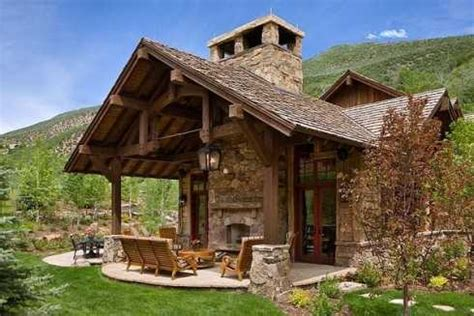 Patio Roof Designs For Outdoor Fireplaces An Exciting
