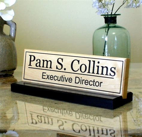 office desk name plates personalized office desk name plate door name plate custom