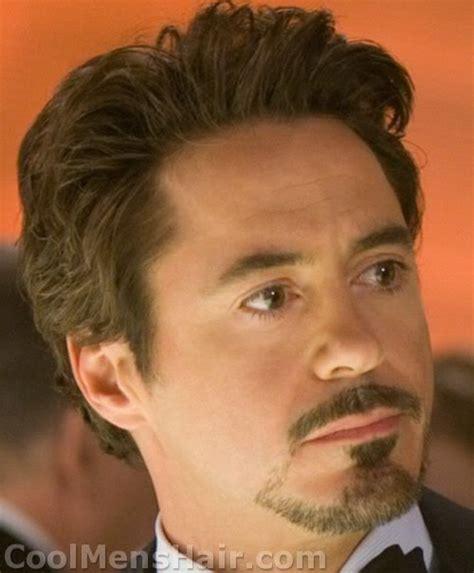 directions for the tony stark haircut the tony stark goatee how to do and maintain it the