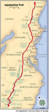 Appalachian Trail Section Maps by Appalachian Trail