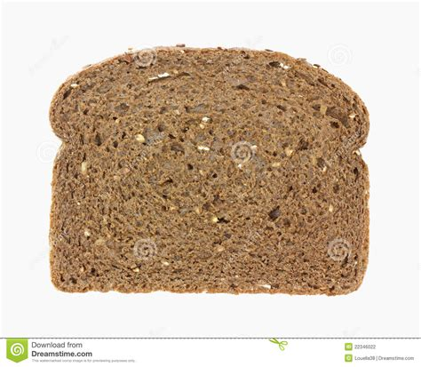 whole grain bread 1 slice calories single slice whole grain wheat bread stock photo