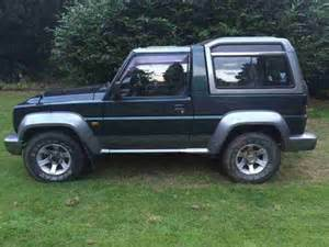 Daihatsu 4x4 For Sale Daihatsu Fourtrak 4x4 Turbo Diesel Car For Sale