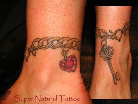 heartbeat tattoo bracelet ankle tattoos and designs page 138