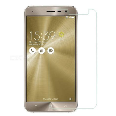 Oren Tempered Glass Asus Zenfone 3 5 5 Laser Clear naxtop tempered glass screen protector for asus zenfone 3 ze552kl 5 5 quot free shipping dealextreme