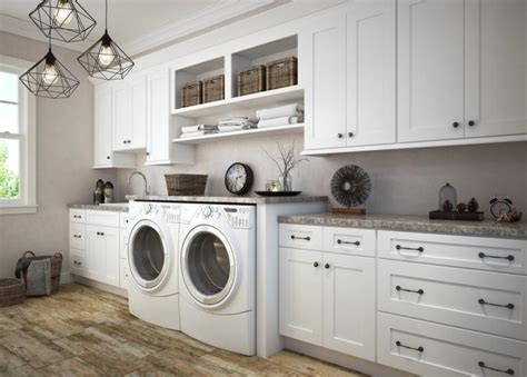 How To Install Cabinets In Laundry Room Pre Assembled Laundry Room Cabinets Laundry Cabinets The Rta