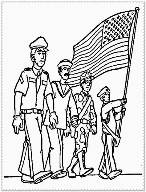 veterans day coloring sheets for preschoolers coloring pages