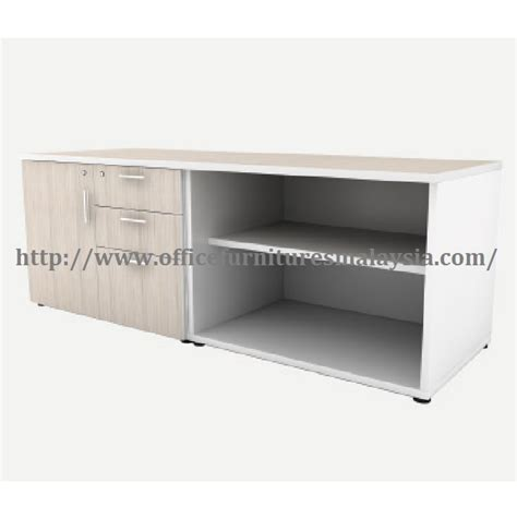 file cabinet side table 6ft office side table file cabinet perabot pejabat shah