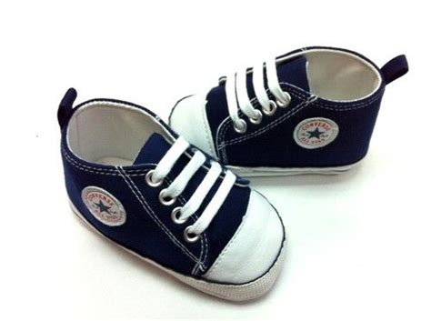 details about new converse soft sole baby boy polka