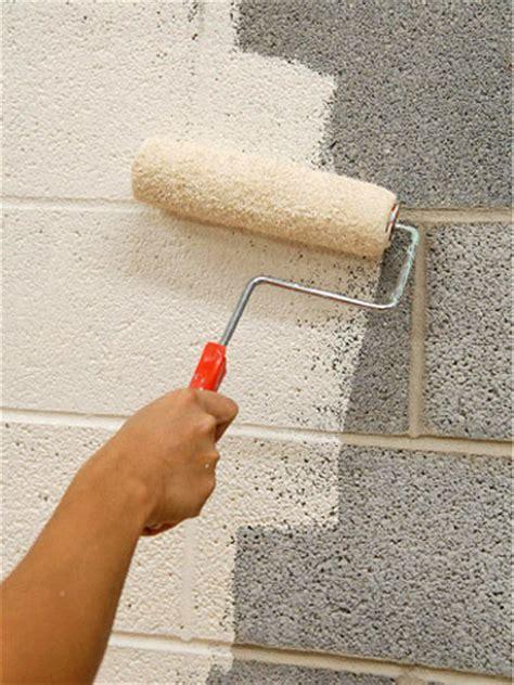 painting exterior cinder block walls concrete block painting