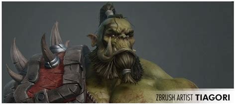 zbrush orc tutorial pixologic zbrush blog 187 orc of a good time