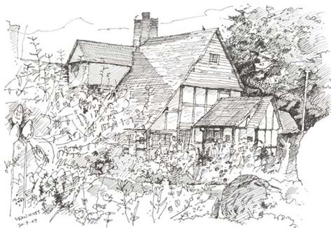drawing of garden kisbyism sketches archive 1