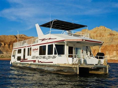 house boat rental lake powell 54 foot escape houseboat