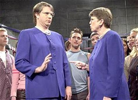 will ferrell janet reno janet reno and will farrell as janet reno quot you fight