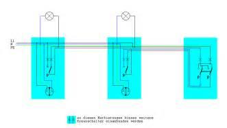 wechselschaltung mit 2 schaltern und 1 le kreuzschaltung mit 3 schaltern und 2 len seite 2