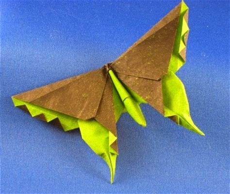 Lafosse Origami - butterfly swallowtail michael g lafosse