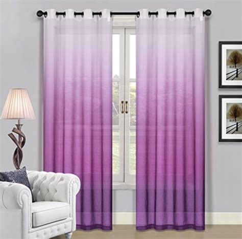 46 inch length curtains beverly hills window treatment collection fabric ombre