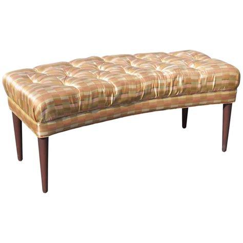 modern tufted bench modern design tufted bench for sale at 1stdibs