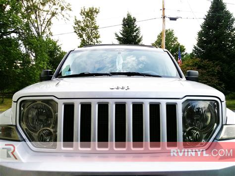 jeep liberty headlights rtint 174 jeep liberty 2008 2012 headlight tint film