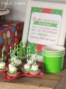 Christmas Party Decorations Pinterest - grinch party clean and scentsible