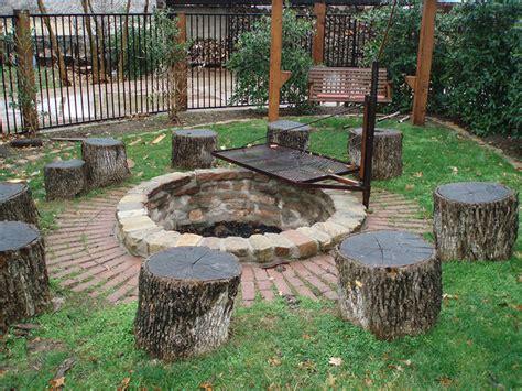 build pit around tree stump outdoor living hardscape installation fort worth arlington dallas
