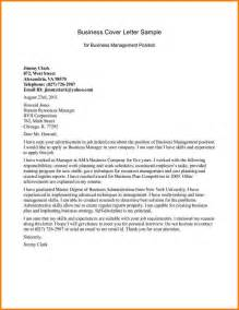 Cover Letter For Manager Position by 5 Business Correspondence Sle Quote Templates