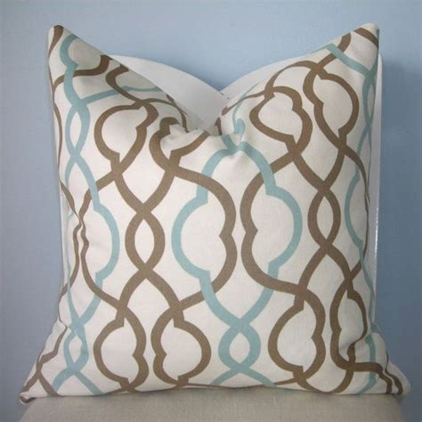 blue and brown couch pillows blue and brown pillows decorative