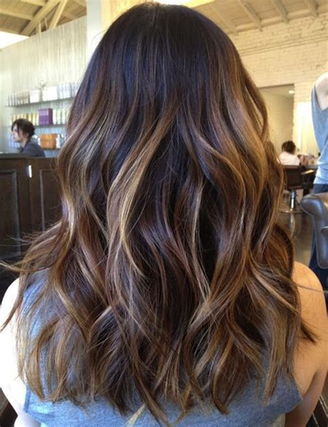 medium brown hair balayage pictures to pin on pinterest balayage ombre on dark hair hair beauty and treatment