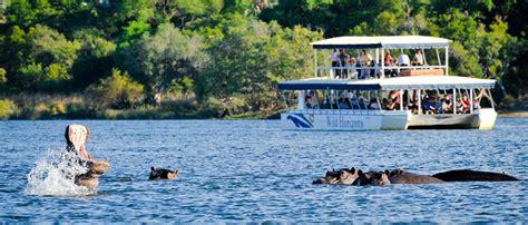 boat cruise zambezi river zambezi sunset cruise wild horizons offer a complete