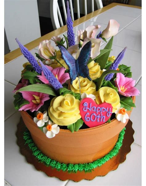 Flower Garden Cake Ideas 20 Amazing And Fantastic Cakes Page 16 Of 20
