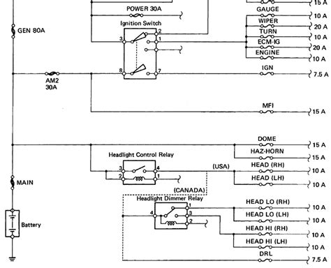 4runner headlight wiring diagram nissan air flow meter wiring