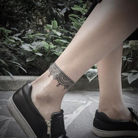 tribal ankle band tattoos 45 exclusive ankle bracelet for and