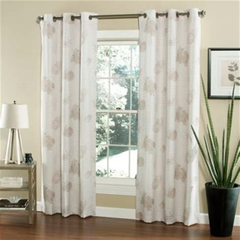 seashell window curtains buy seashell window curtains from bed bath beyond