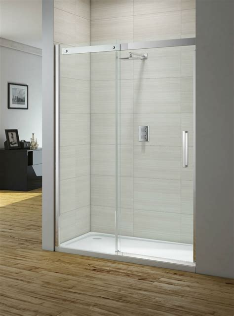 1000mm Shower Door Merlyn Ionic Gravity 1000mm Frameless Sliding Shower Door Igcsl1000