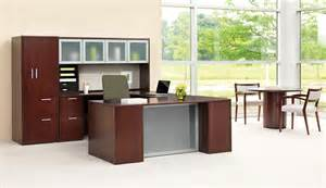 hon 10700 series u shaped desk and table