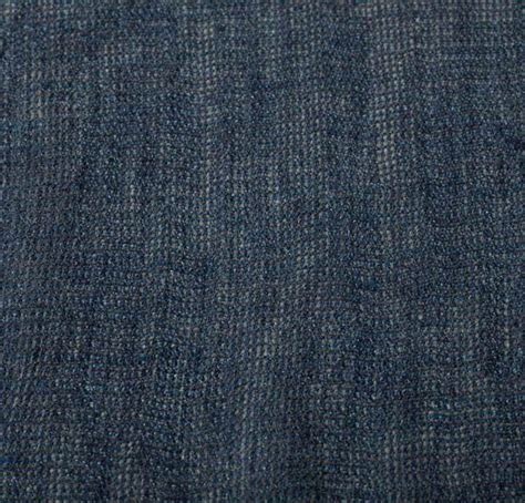 cotton mesh blue fabric