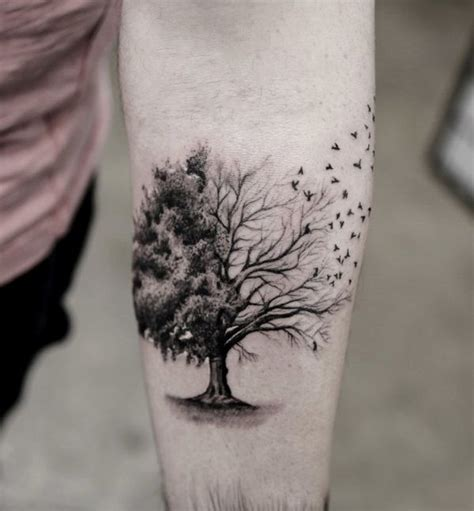 tree tattoo the meaning of life as mentioned earlier