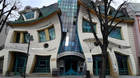 crooked house krzywy domek the crooked house sopot poland