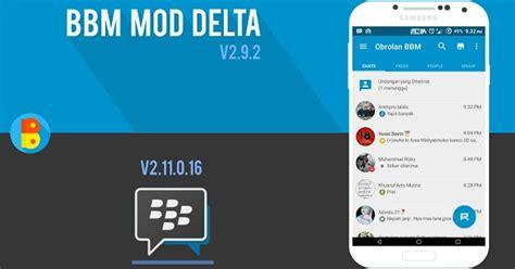 bbm mod game online bbm mod delta apk terbaru semua versi cara android