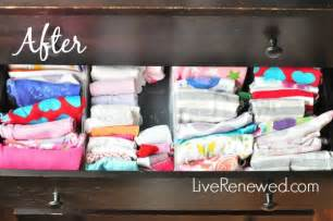 the best way to fold and organize clothes