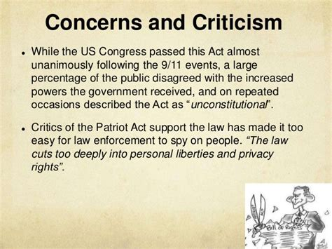patriot act section 412 does the american constitution guarantee freedom