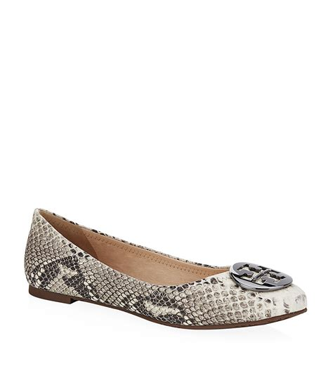 Trend Report Burch Reva Flats Are Going To Be This Second City Style Fashion by Burch Reva Snake Print Flat In Animal Snake Lyst