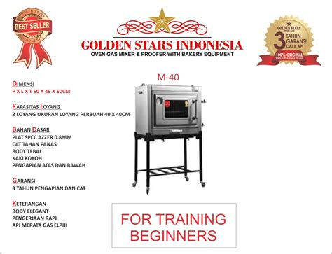 Oven Kue Gas Golden best seller oven gas indonesia