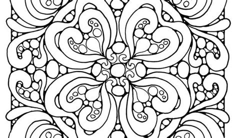 abstract for boys coloring pages