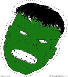incredible hulk mask  printable masks