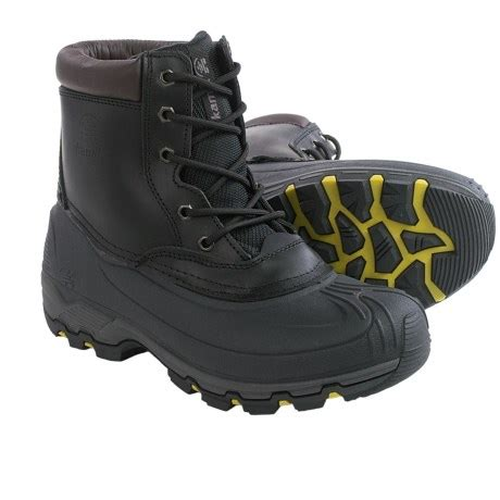 mens snow boots reviews great boots review of kamik hawksbay thinsulate 174 snow