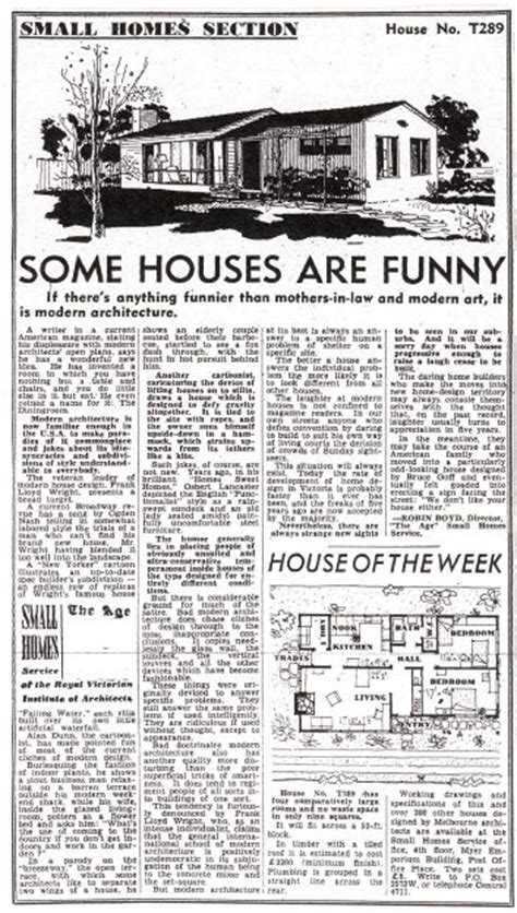 the age domain section robin boyd was an architect of the ages and is still