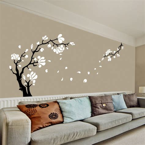 ebay tree wall stickers magnolia flower tree wall stickers wall decals ebay