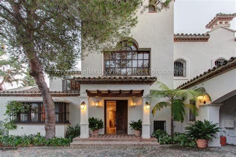 spanish style villa elegant 6 bedroom villa to rent on marbella s golden mile