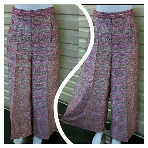 Celana Kulot Lace 11 best celana kulot etnik batik images on kulot batik kebaya and kebayas